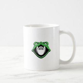 Serpiente contra ratón taza de café