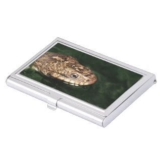 serpiente de agua cajas de tarjetas de visita