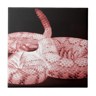 serpiente de cascabel azulejos cerámicos