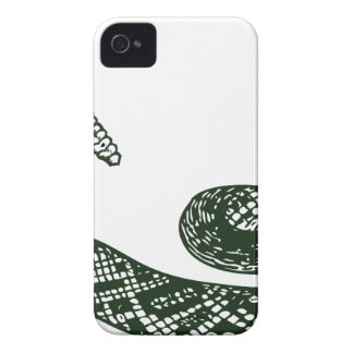 Serpiente de cascabel Case-Mate iPhone 4 fundas