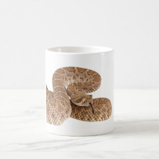 Serpiente de cascabel de Diamondback occidental Taza Clásica