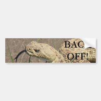 Serpiente de cascabel de pradera R0008 Pegatina Para Auto