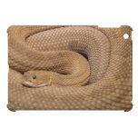 Serpiente de cascabel del basilisco iPad mini protector