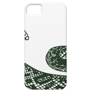 Serpiente de cascabel iPhone 5 carcasas