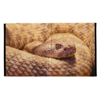 Serpiente de cascabel manchada asustadiza