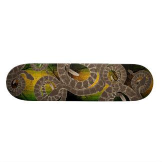Serpiente de cascabel monopatín personalizado
