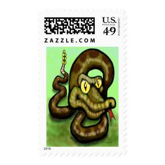 Serpiente de cascabel sellos