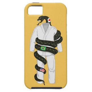 Serpiente de Jiu Jitsu del brasilen@o iPhone 5 Funda