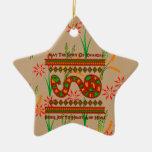 Serpiente de Kwanzaa Ornamento De Navidad