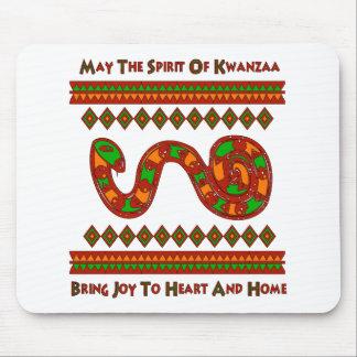 Serpiente de Kwanzaa Tapete De Raton