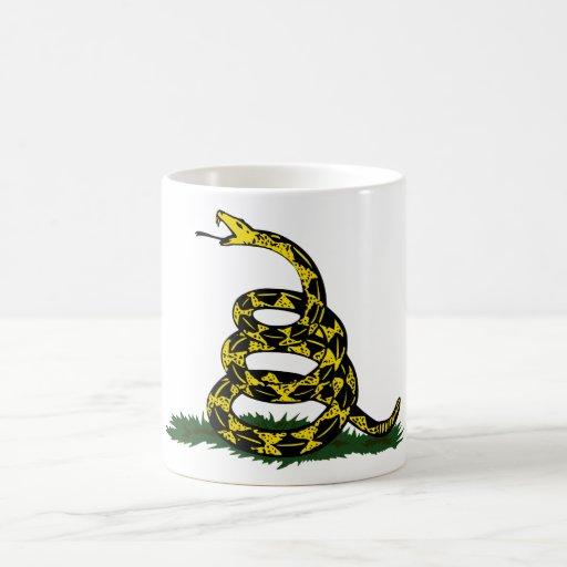 Serpiente de la bandera de Gadsden Taza