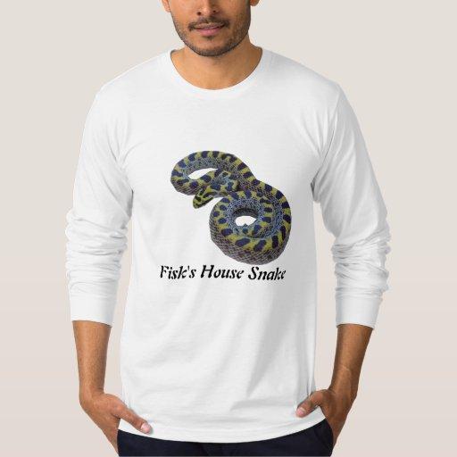 Serpiente de la casa de Fisk American Apparel de Playera