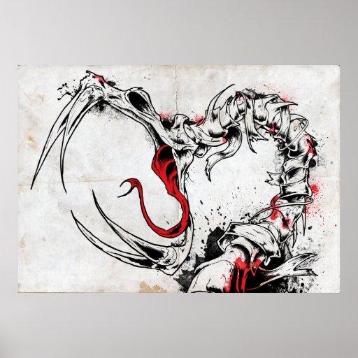 Serpiente de la muerte II Poster