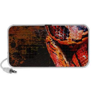 Serpiente de maíz del Grunge arrollada iPhone Altavoz