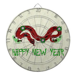 Serpiente del Año Nuevo Tablero De Dardos