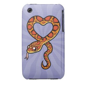 Serpiente del dibujo animado funda bareyly there para iPhone 3 de Case-Mate