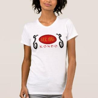 Serpiente del monograma de Kondo Camiseta