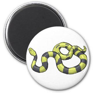 Serpiente del pitón imán de nevera