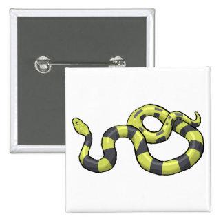 Serpiente del pitón pin cuadrado