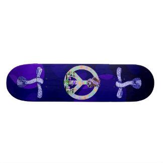 Serpiente del símbolo de paz patinetas personalizadas