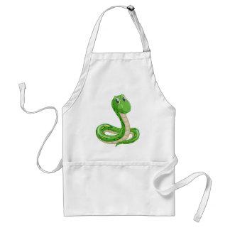 serpiente delantal