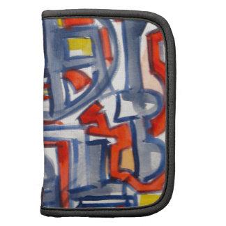 Serpiente en el gallinero - arte abstracto organizadores