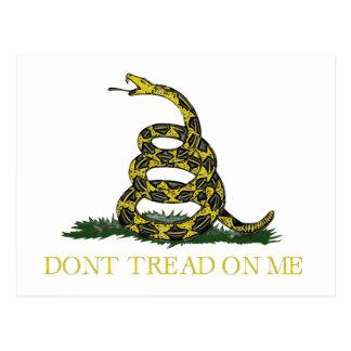 Serpiente en espiral de la bandera de Gadsden Postal