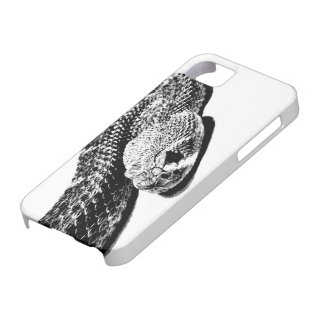 Serpiente en espiral funda para iPhone 5 barely there