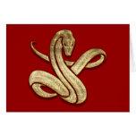 Serpiente Felicitacion