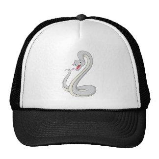 Serpiente feliz de la mamba negra gorra