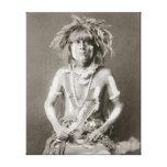 Serpiente india Priest, 1910 Impresión En Lona Estirada