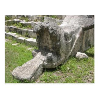 Serpiente maya postal