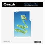 Serpiente moldeada calcomanía para iPod touch 4G
