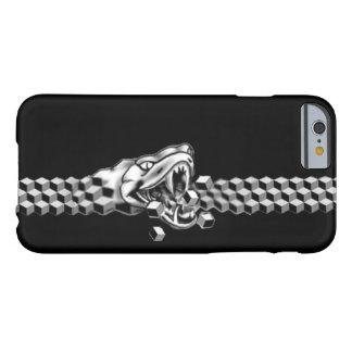 serpiente que se come cubierta del teléfono del funda de iPhone 6 barely there