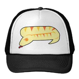 Serpiente rayada gorra