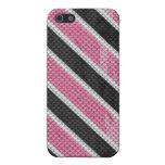 Serpiente rosada iPhone 5 cárcasa