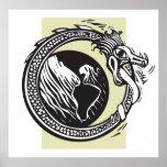Serpiente y tierra de Midgard Poster