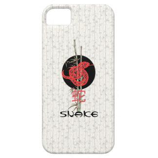 Serpiente zodiaco chino iPhone 5 Case-Mate protectores