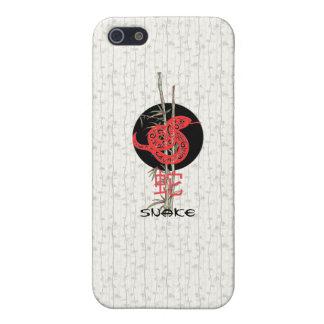 Serpiente zodiaco chino iPhone 5 protector