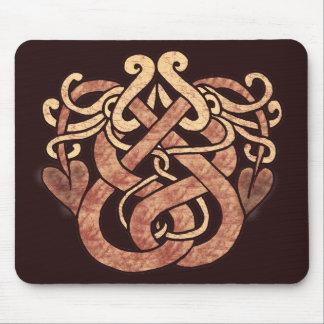 Serpientes célticas tapete de ratón