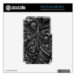Serpientes de acero iPod touch 4G calcomanía
