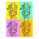 Serpientes del arte pop