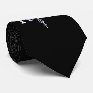 Serpientes del caduceo del RN de la enfermera Corbata Personalizada