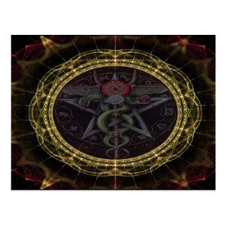 Serpientes del Pentagram Postal