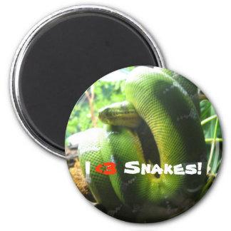 ¡Serpientes I <3! Imán