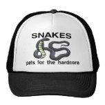 Serpientes incondicionales gorros bordados