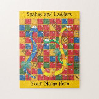Serpientes y escaleras puzzle