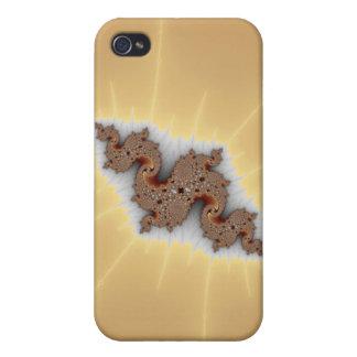 Serpus - arte del fractal iPhone 4 carcasas