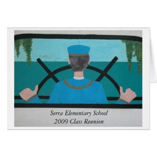 Serra 2009 Class Reunion Notecard Card