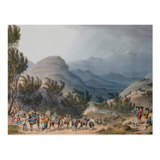 Serra de Estrella or De Neve Postcard